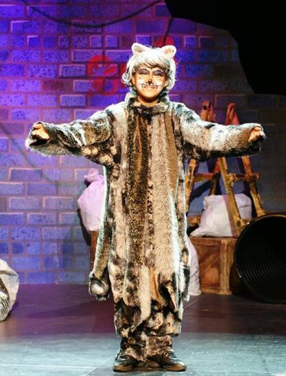 苏艺•小橙堡周末儿童剧场 经典亲子音乐剧 《寻梦的猫》(合作)