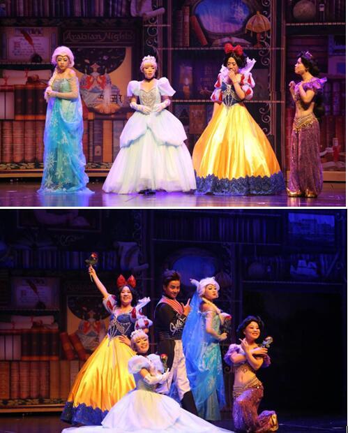 苏艺·小橙堡周末儿童剧场 甜甜旋风公主秀 《我是最美公主》(合作)