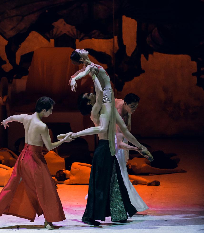 【苏州芭蕾舞团】苏芭《西施》献演国家大剧院 唯美演绎东方芭蕾气质