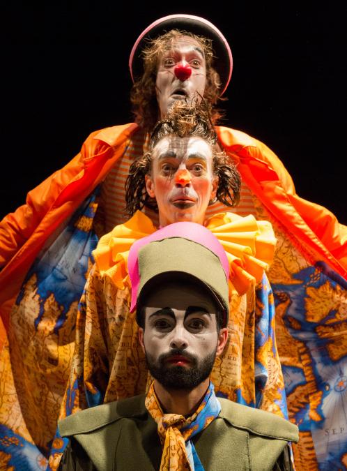 意大利马戏团亲子默剧《寻找地球》